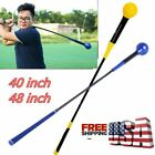 Golf Swing Trainer Training Aid Power Strength Tempo Flex Indoor  Practice Stick
