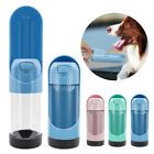 Dog Travel Water Bottle with Carbon Filter Pet Portable Drinking Bowl Dispenser