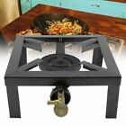 Portable Burner Cast Iron Propane LPG Gas Stove Outdoor Camping Cooker USA photo