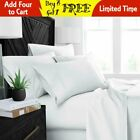 Luxury 6 Piece 100% Egyptian Comfort 1800 Thread Count Deep Pocket Bed Sheet Set image