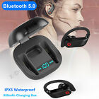 Kyпить Wireless Bluetooth 5.0 Headset Earphone Sport Earbud Stereo Headphone For Phones на еВаy.соm