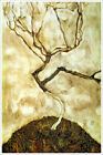 A Tree in Late Autumn Artist Egon Schiele Giclee Art Poster Print