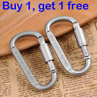 Buy 1, Get 1 Free Outdoor Sports Screw Lock Clip Hook Carabiner For Camping