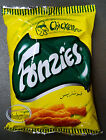 Lots of 5 Fonzies Corn Chips Crispy Fried Snacks Cheese BBQ Curry Chicken Flavor