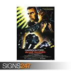 BLADE RUNNER POSTER HARRISON FORD (ZZ087) MOVIE POSTER Photo Poster Print Art