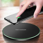 US 15W Qi Wireless Charger Charging Pad Mat For iPhone 11 11Pro Max 8 X 8Plus XS
