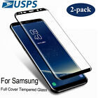 For Samsung Galaxy Note 10 S9 S8 Plus Full Cover Tempered Glass Screen Protector
