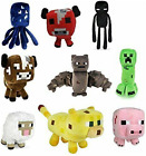 Minecraft Plush Toys 6 to 8 Inches Animals Soft Toy Plushies For Kids Gift