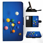 SNOOKER POOL TABLE BALLS 3 FLIP WALLET CASE COVER FOR SAMSUNG GALAXY S $10.45 USD on eBay