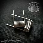 N80 Series Fused Claptons. Mechanical stacked Mod 0.3 Ohms dual coil clouds vape