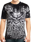Xtreme Couture Offering Screaming Skulls UFC MMA Mens T-Shirt Black SMALL RARE