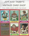1974 TOPPS FOOTBALL YOU PICK FROM SCANS # 355 TO # 528 $1.0 USD on eBay