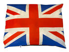 LARGE Dog Pet Bed Pillow Cushion Zipped Cover Removable Washable UNION JACK