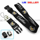 LANYARD FOR CADILLAC KEYCHAIN QUICK RELEASE KEY CHAIN VALVE CAP OPT - US SELLER