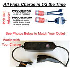 Fiat 500e Level 2 Electric Vehicle Car Charger Low Cost EVSE Upgrade EVDOUBLER