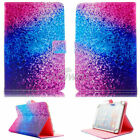 "US For 9.7-10.1"" inch Tablet Rainbow Sand Universal Leather Case Cover /Keyboard"