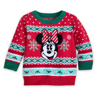 Kyпить Disney Character Christmas Sweater- Girls Sizes- Minnie Mouse- Red/ Green на еВаy.соm
