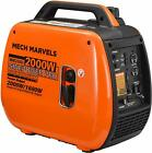 Mech Marvels 1500 Watt Portable Power Dual Fuel Generator,  Carb Compliant MM2350