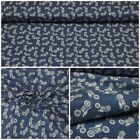 Jeans Fabric Motorcycle Cotton Elastic Denim for Trousers Jacket Rock Clothing