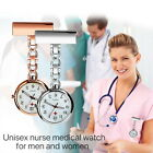 Medical Lapel Pin Clip-on Brooch Quartz Nurse Large Face Fob Watch for Doctor