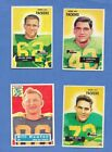 PRE-1973 - green bay packers singles - topps, bowman , fleer-pick from dropdown $5.79 USD on eBay