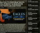 THE+EAGLES+03%2F17%2F20+AA+Center+Dallas%2C+Tx.+2+tickets+Sect.+310+Row+N+Seats+1-2