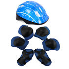 Boys Girls Children Safety Helmet & Knee & Elbow Pad Set Cycling Skate Bike