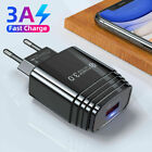 QC 3.0 Fast Charging USB Wall Charger 18W Power Adapter Plug For Huawei Samsung