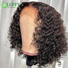 Curly Human Hair Wigs Short Pixie Cut Wigs Bob Pre Plucked Curly Lace Front Wigs