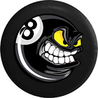 Spare Tire Cover Cartoon Angry Poolball Billiards 8 Ball JK Accessories $62.97 USD on eBay