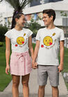 Valentines Day 2020 Funny Emoticons Kissing Adults T-Shirt
