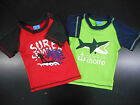 Infant/Toddler Boys Sweet  Soft Assorted Swim Tops Sizes 24Mth.  2T