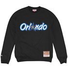 Orlando Magic Mitchell & Ness NBA Embroidered HWC Logo Crew Jumper - Black on eBay