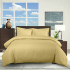 Twin/TwinXL 100% Cotton 300 Thread Count Striped 2PC Comfort Duvet Cover Set  image