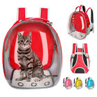 Transparent Cat Carrier Bag Backpack Space Capsule Cat OutDoor Travel Crate Cage