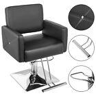Classic Barber Chair Hydraulic Beauty Stylist Stations Salon Spa Haircut Styling