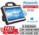 "13.3"" Panasonic Toughbook Cf-d1 Intel 847 2/4gb 250/500gb Hdd Or 128/256gb Ssd"