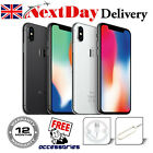 Apple iPhone X (iPhone 10) 64GB 256GB Silver Space Grey Unlocked Sim Smartphone