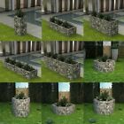 Steel Gabion Planter Rock-Stone Wall Baskets Plants Vegetable Bed Border Garden