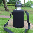 Jw_ Jn_ 2l/2000ml Stainless Steel Tea Water Bottle Carrier Insulated Bag Holde