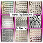 Pre-Printed Image Transfer Sheet for Polymer Clay - Magic Paper image