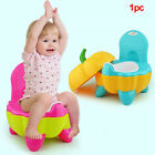 Cute Folding Training Chair Toddler Pumpkin  Baby Potty Cartoon Portable image