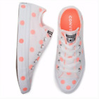 New Womens Converse CTAS OX Low Top Polka Dot Sneakers Size 6 7 8 9