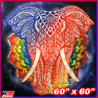 Wall Hanging Tapestry Decor Indian Elephant Mandala Meditation Bohemian Poster