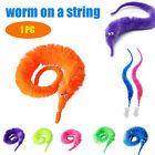 6PC Magic Twisty Worm Slideyz Squirmles Fuzzy And Soft Cute Game Toy Supply