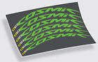 Mavic Cosmic Pro Carbon style decals stickers for 700c 45mm road wheels graphics