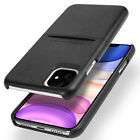 For Apple iPhone 11 Pro Max Case Leather Slim Card Slot Wallet Shockproof Cover