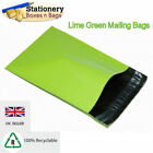 STRONG NEON GREEN Mailing Bags 24