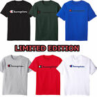 BRNAD NEW Champion Men's Classic Jersey Script T-Shirt Limited Edition (S-XL) image