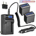 Kastar Battery LCD AC Charger for Sony NP-QM91D & Sony CCD-TRV748 DCR-DVD100